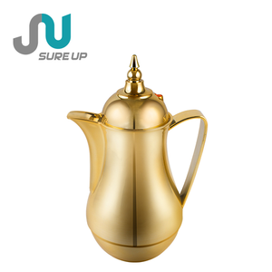 0.5L 1.0L Arabic style thermos vacuum jug coffee pot tea flask with glass liner (JGFR)