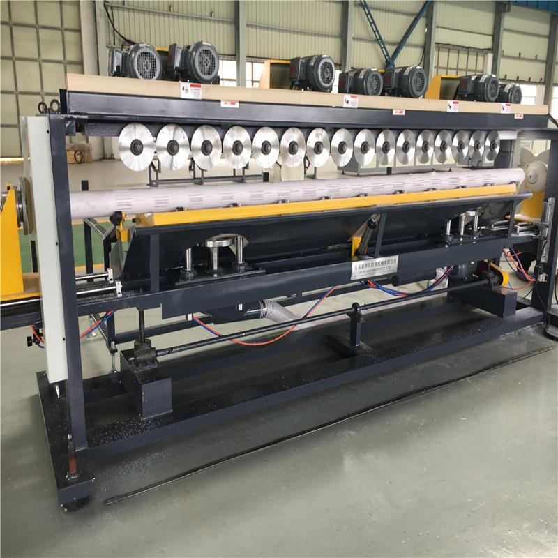 Otomatik Plastik PVC boru planya makinesi
