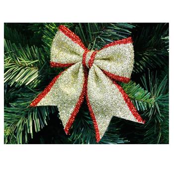 Diy Cute Big Bows Christmas Tree Bowknots Party Garden Wedding Favors Christmas Ornament Bow Buy Christmas Decorative Bows Red Christmas Tree