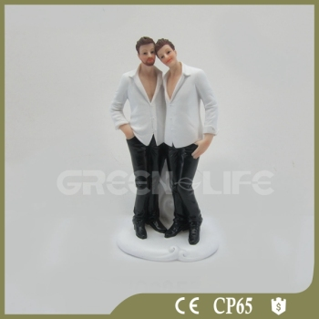 Gay Wedding Cake Topper Coppia Decorazione