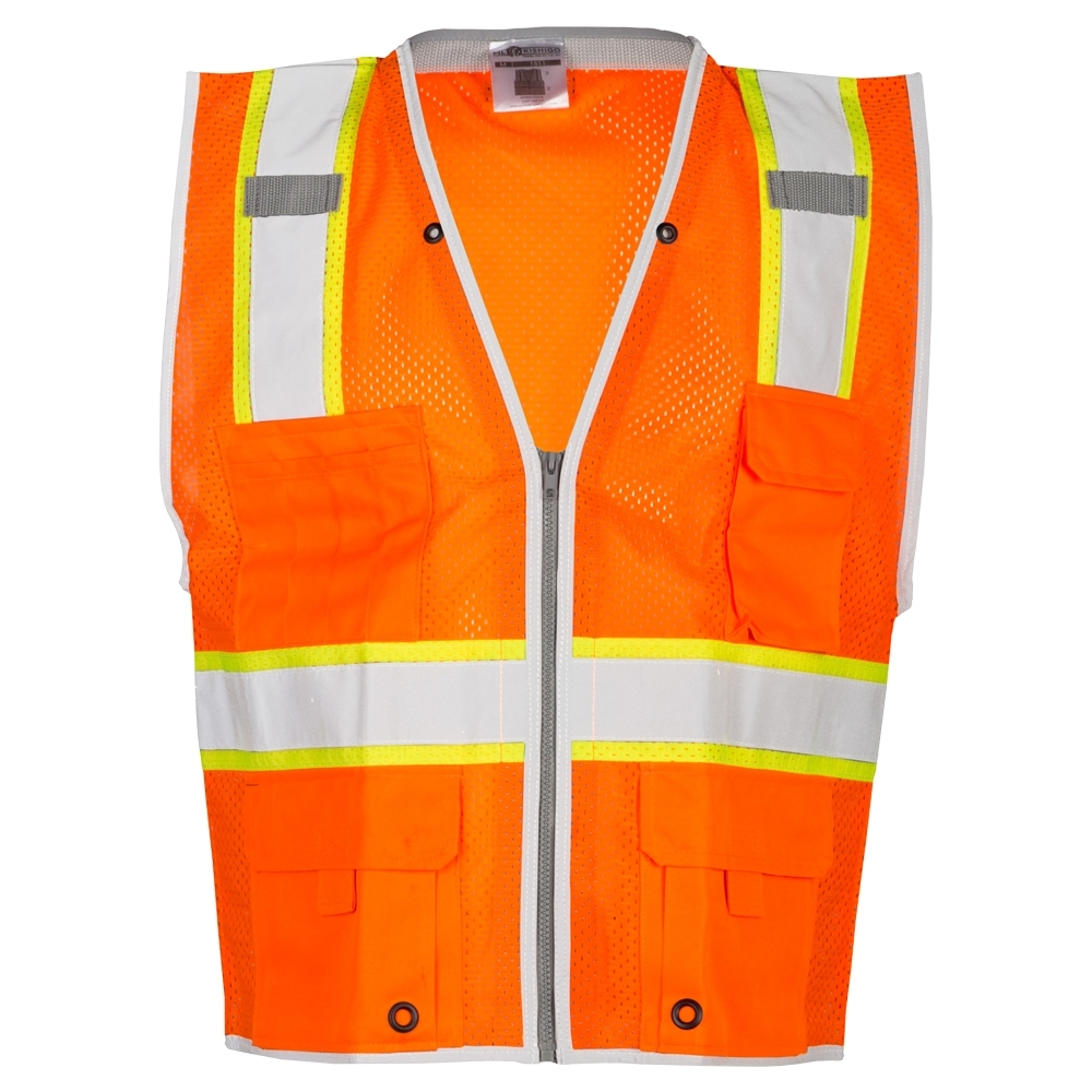 Fluorescent <strong>orange</strong> Safety <strong>Vest</strong>