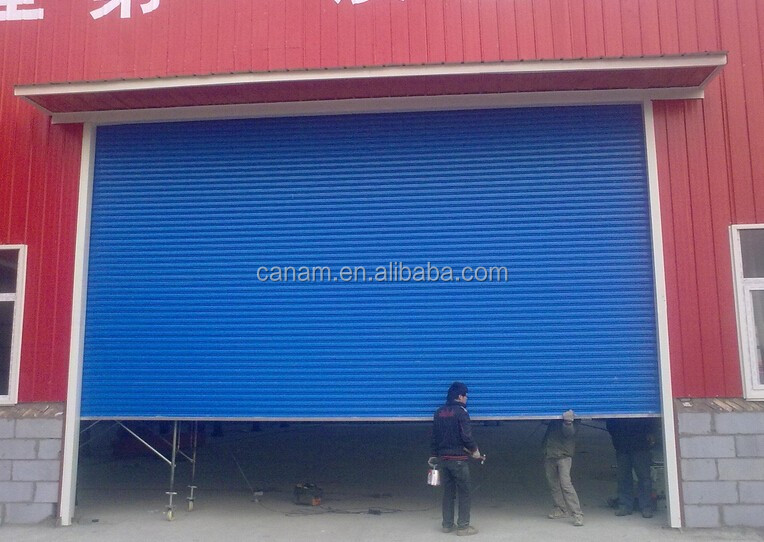 China supplier aluminium frame industrial door
