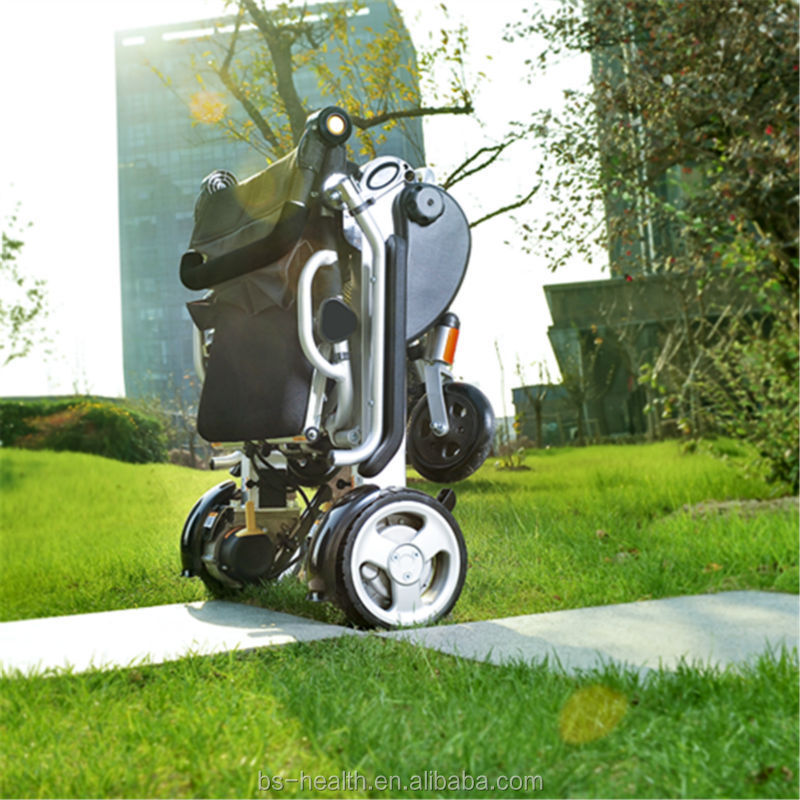 2015 new products steering assembly adjustable height wheelchair folding power wheelchair for older use