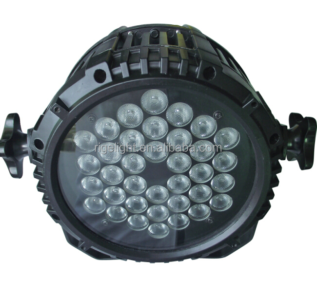 3w36leds 3in1 Outdoor Par Can,Waterproof Led Par Light