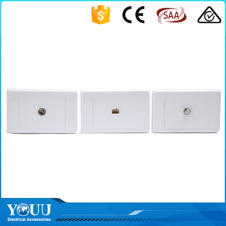 Wholesale China Top Ten Selling Products Telephone Electric Wall Switch And Socket Outlet