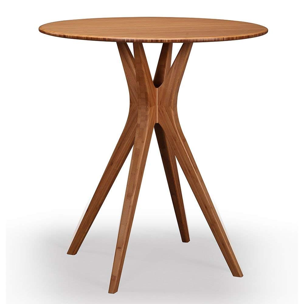 """Mimosa Solid Bamboo Counter Height Table Caramelized Solid Bamboo Dimensions: 36""""W X 36""""D X 36""""H Weight: 47 Lbs"""