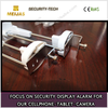 Retail merchandise security display magnetic hook