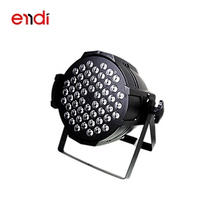 ENDI 2018 Professional factory price hot sell 54 beads led rgbw par light for stage disco night club and dance hall