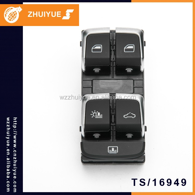ZHUIYUE Car Spare Parts Window Lifter Switch 4GD 959 851C For AUDI A4L A5 Q5
