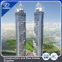 Green Construction Popular Commercial and Multi-storey Metal Tower Steel Structure office building kit