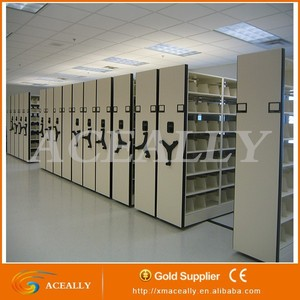 Manual Mass Shelf/Mobile Filing Cabinet /Compact Shelving