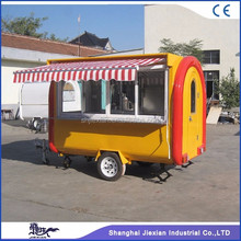 JX-FR280H conveniently-used modern trailer for small car/ breakfast cart coffee van made in China