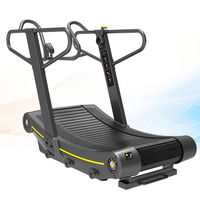 Commercial treadmill new design self power curve treadmill for Best non motorized treadmill