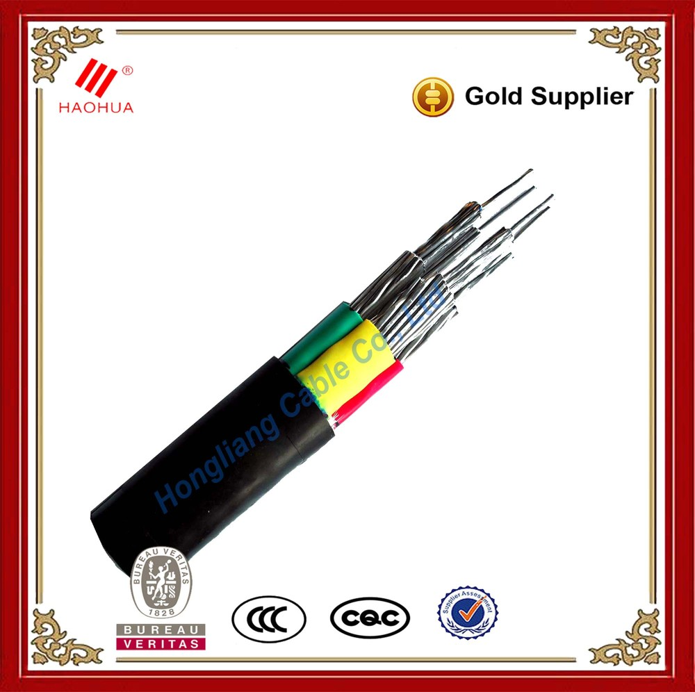 No.1717 - Low Voltage aluminium conductor 25mm earth grounding electric cable for construction