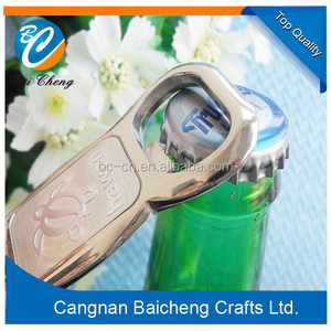 Funny bottle opener keychain with zinc alloy material