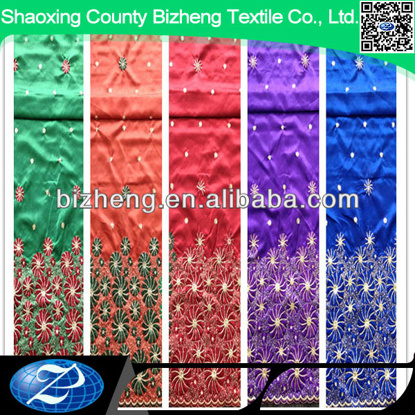 African Intorica George Fabric From India For Wedding Dresses ...