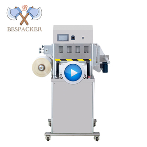 Bespacker XBG-100 Automatic food plastic tray cup sealing machine with vacuum and nitrogen