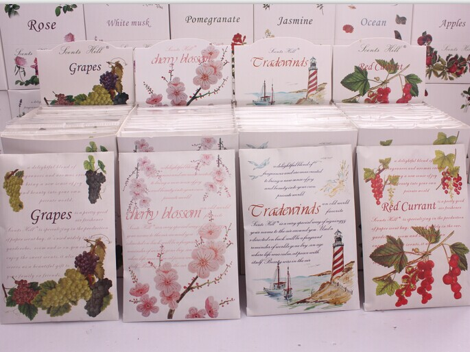 Wholesale Holiday Gift Jasmine Molly Scent Envelope Aroma