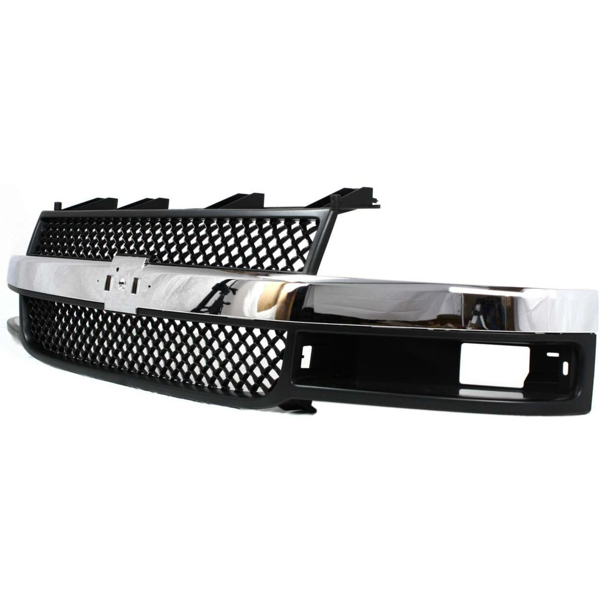 Diften 102-A4055-X01 - New Grille Assembly Grill Dark gray insert Express Van Chevy GM1200535 25749583