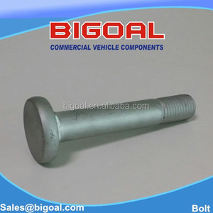 spring bolt for BPW trailer BIGOAL NO 401.089 size M24 lenght 166mm