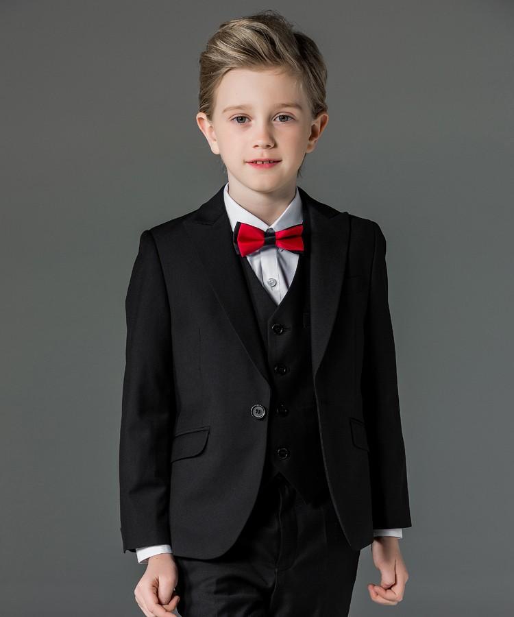 ELPA designer 3 piece kids wedding suits red wholesale kids suits ...