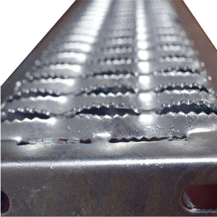 Aluminum plate perforated metal stair treads for workshop