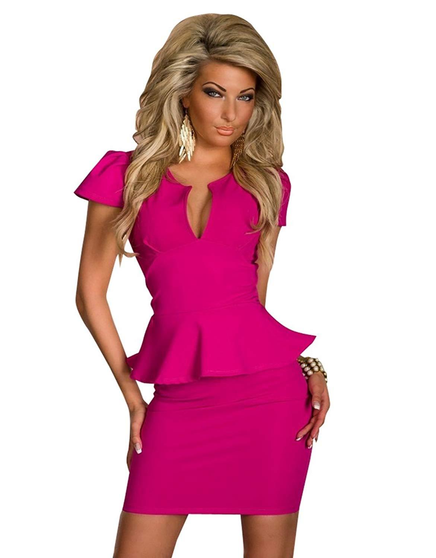 Women's sheath dress knee length dress