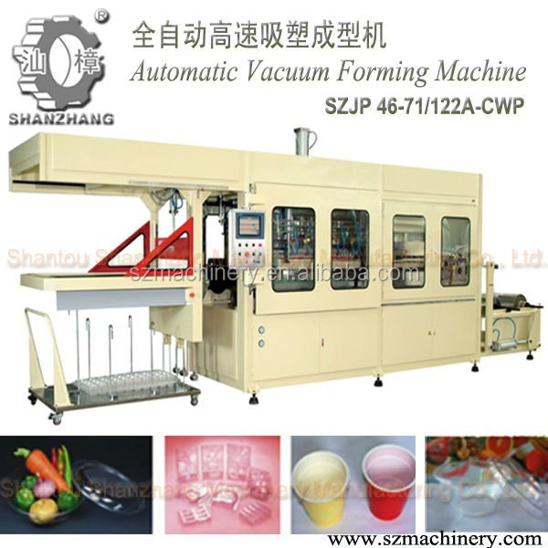 Fully Automatic Vacuum Forming Machine for food container