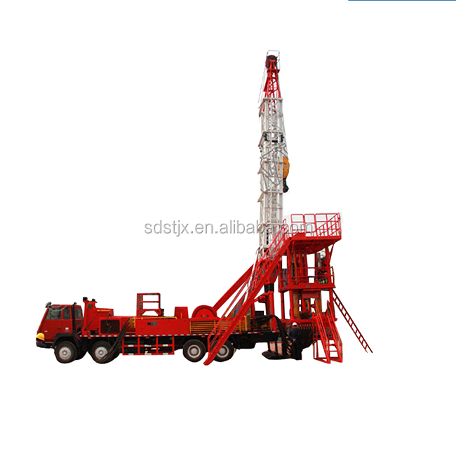 Truck Mounted Workover Rig 250HP,350HP Mobile Drilling Rig