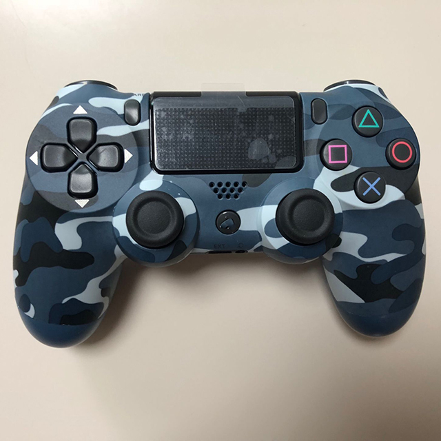 for PS4 original game <strong>controller</strong> PRO handle SILM handle Camouflage blue Bluetooth wireless spot