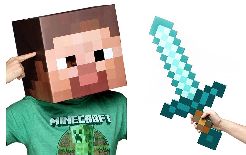 20+ Pictures Of Minecraft Steve With Diamond Sword JPG