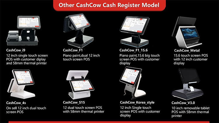 Cashcow 15.6 inch touch screen pos monitor