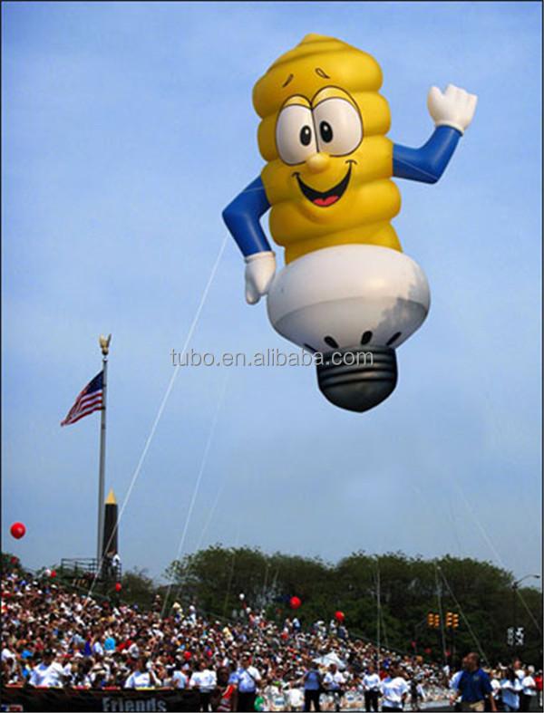 Hot Sale Inflatable Led Light Bulb,Light Helium Balloon