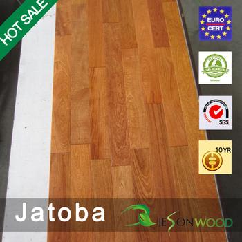 Solide Jatoba/Brazilian Kirsche Parkett Wohnung/glatte Oberfläche Natürliche/mahagoni  Farbe