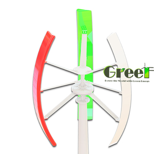 Small wind generator VAWT 3KW, Vertical wind turbine for home, farm and commercial