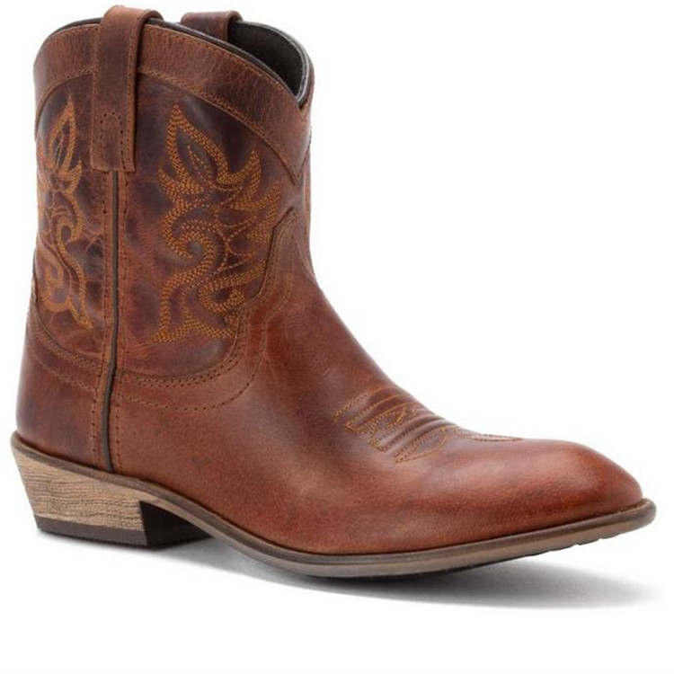 Handmade genuine leather women cowboy <strong>boots</strong>