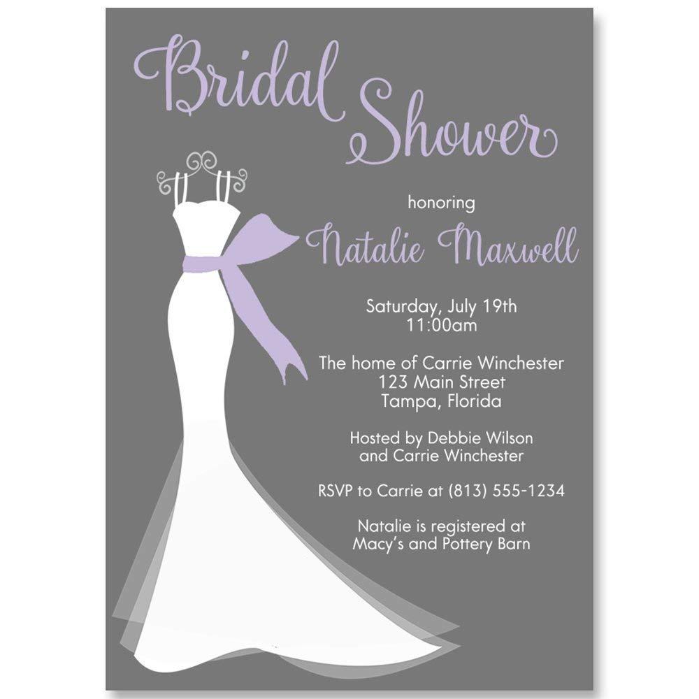 Buy Bridal Shower Light Lavender Gray And Light Yellow