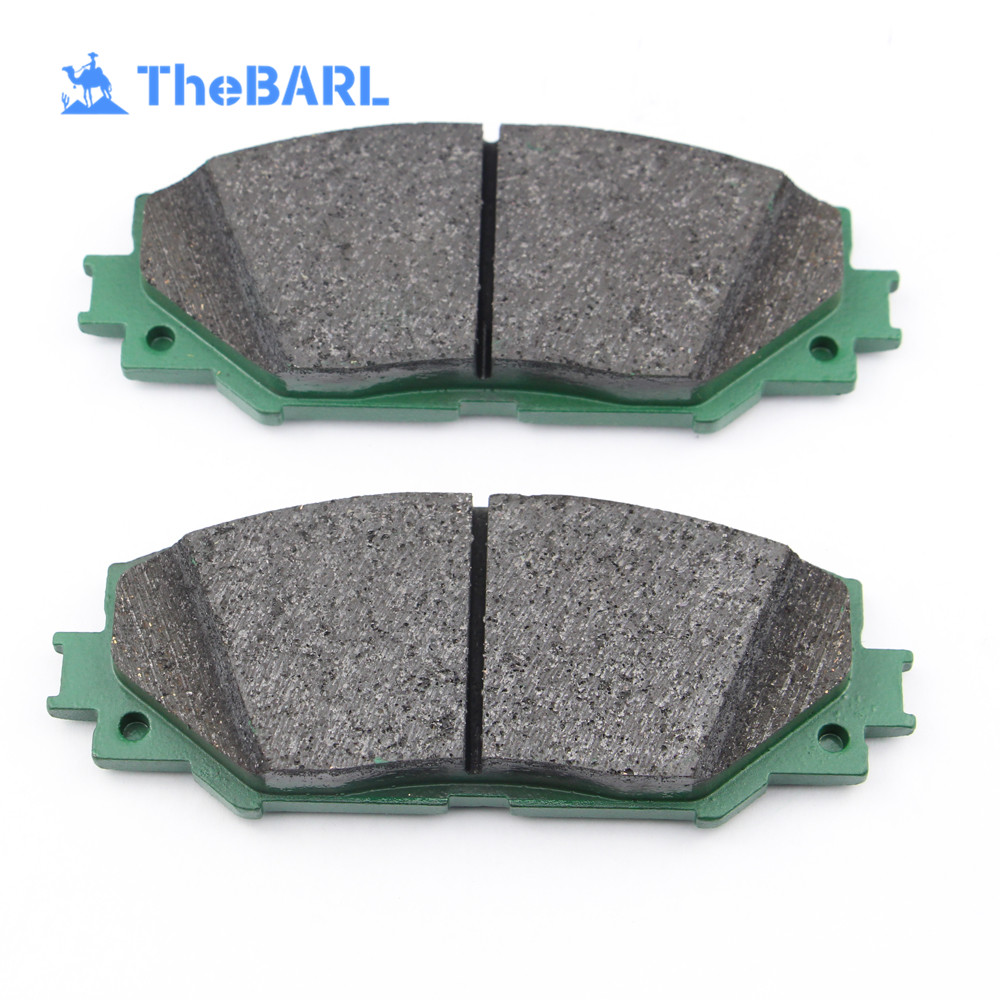 Various Auto Spare Parts Disc Brake Pad Fibers D1210 for American Car Mondeo