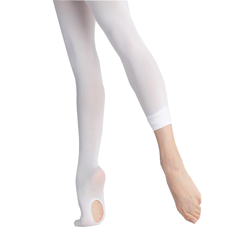98dd3ef31ad91 Hi Clasmix Girls Dance Tights- Ultra Soft Transition Ballet Tights For Girls  Women
