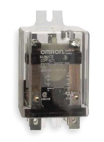 OMRON INDUSTRIAL AUTOMATION MJN2C-E-AC120 POWER RELAY, DPDT, 120VAC, 20A, FLANGE