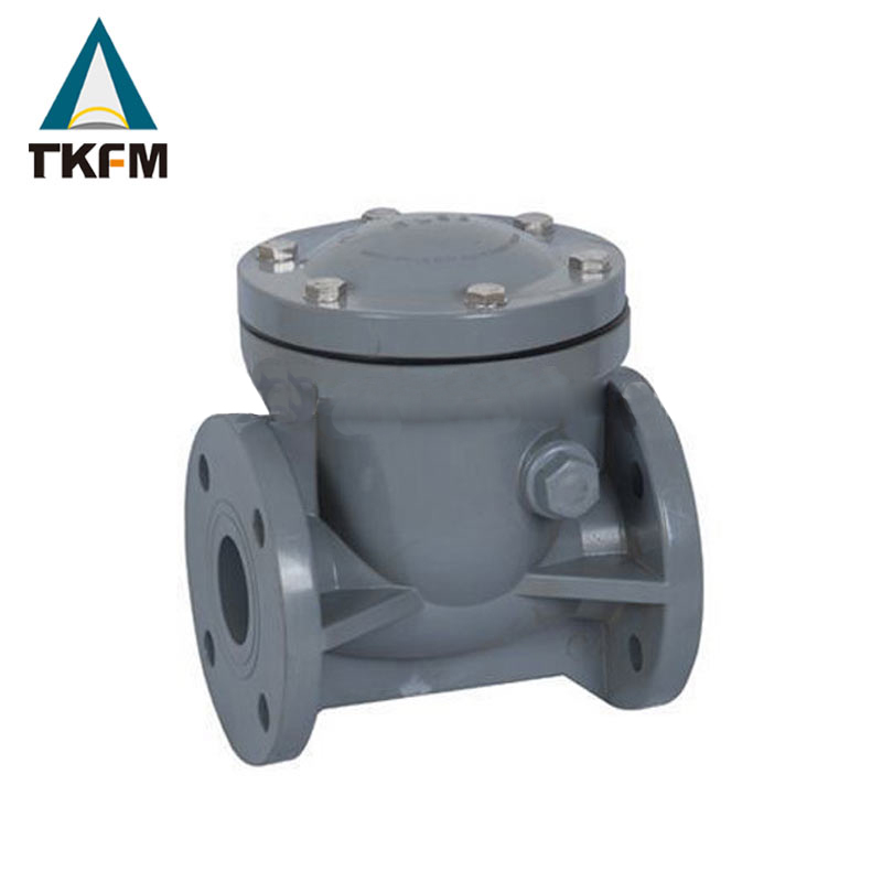 China pornd grade forging steel fuel oil medium ball float jis 10k cf8m swing check valve dn40