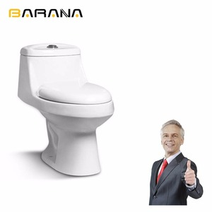 European Market Standard Self Cleaning One Piece Toilet With A Good Fitting