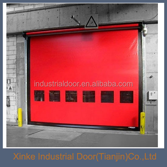 Withstand PVC high speed used garage <strong>doors</strong> sale
