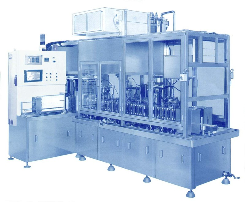 Gable-top carton filling machine