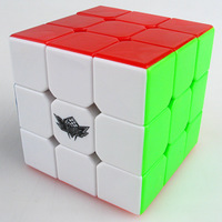 Hot Wholesale Cyclone Boys 3x3x3 56mm magic puzzle rubic stress cube for educational toys kids games