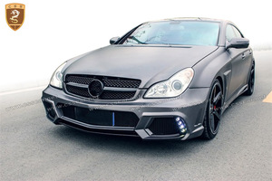 old style cls w219 2006-2010 mercede bens change to wd style body kit