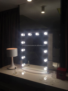Starlet lighted make up vanity mirror studio portable backstage starlet lighted make up vanity mirror studio portable backstage vanity lighted makeup mirror tabletop hollywood aloadofball Image collections