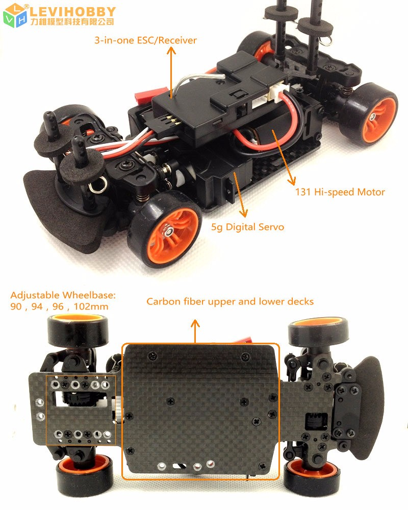 Mini Q High Speed Rc Car Kit Drift Car Toy For Kids Race