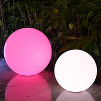 Solar LED ball light outdoor illuminate LED lighting ball modern design LED ball lights