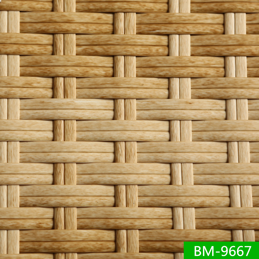 SGS Certificated Hot Sell Plastic Patio Furniture Artificial Wicker
